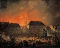Danish Military history. The English bombardement of Copenhagen 1807